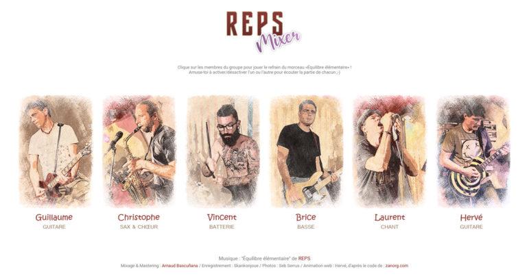Joue avec REPS !