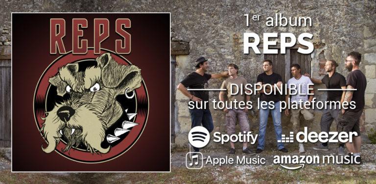 Album REPS disponible en streaming
